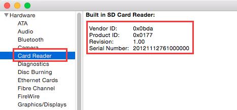 黑苹果下内建SD读卡器