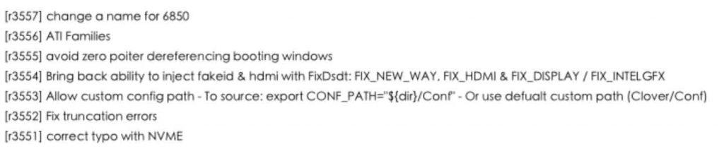Clover v2.3k r3557 EFI文件夹 Windows版本、PKG安装包