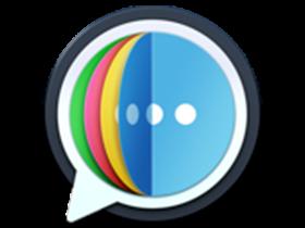 One Chat For Mac v4.9.2 Mac聊天软件兼容微信、QQ等