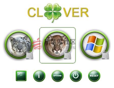 Clover Bootloader 四叶草安装配置问题