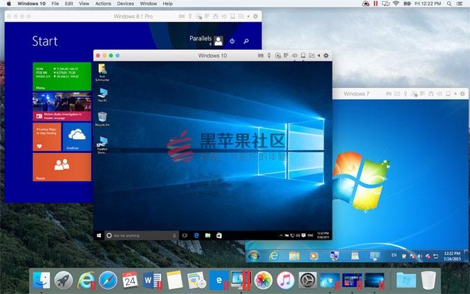 Parallels Desktop 11 for Mac中文破解版 v11.2.1 (build 32626) 虚拟机