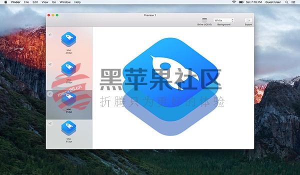 IconKit For Mac v8.0.2 软件图标ICON制作工具