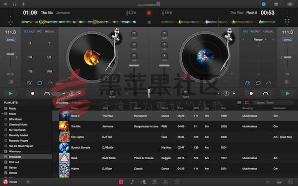 djay Pro For Mac v1.4.1 打碟软件专业版