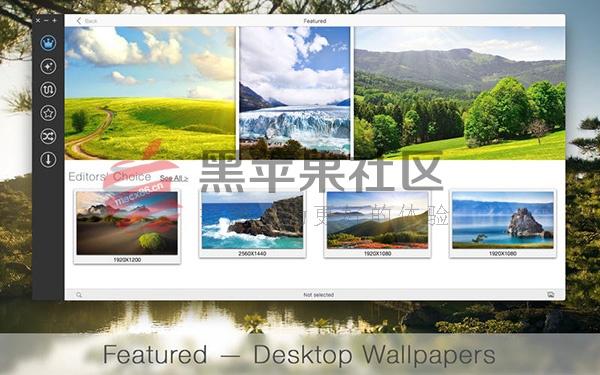 uDesktop NEXT For Mac v3.1 高清壁纸集合工具
