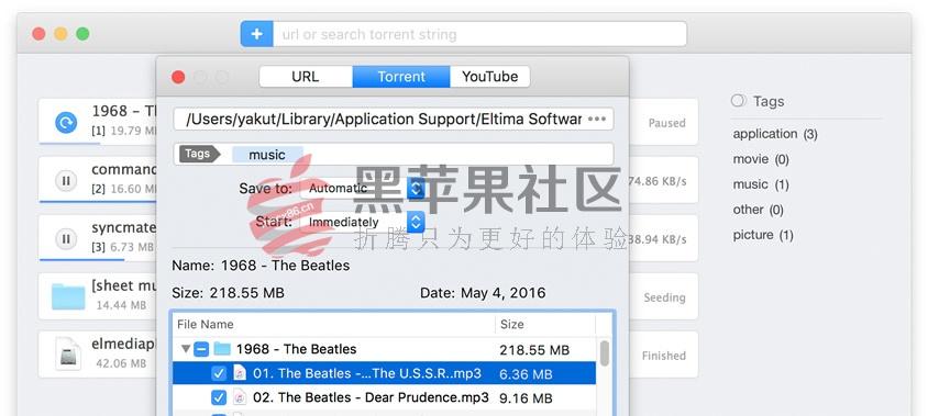Folx Downloader Pro v5.2.13690 专业下载工具支持BT专业版