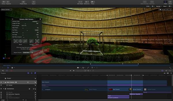 Motion For Mac v5.3.2 影视后期视频编辑软件