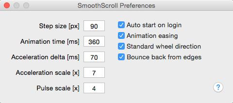 SmoothScroll For Mac v1.1.5 让鼠标的滑动如丝般顺滑