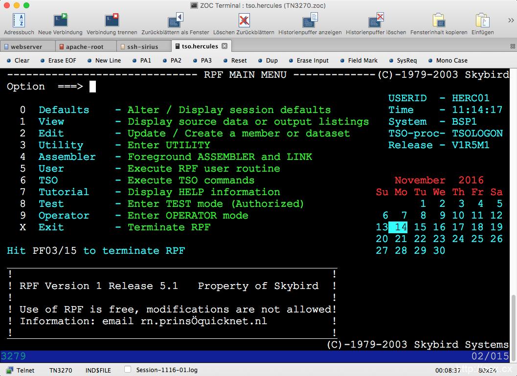 ZOC Terminal for Mac v7.25.7  强大的远程终端连接工具