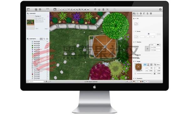 OmniGraffle Pro For Mac V7.4 图标、流程、结构图绘制工具