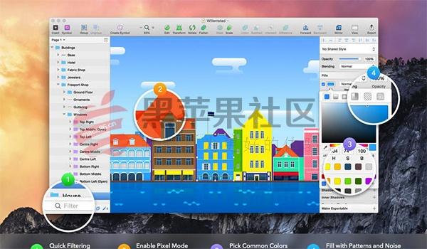 Sketch For Mac v46.2 专业矢量绘图图形设计工具