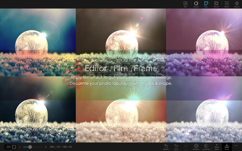 PhotoScape X For Mac v3.0.3 照片美化后期制作工具