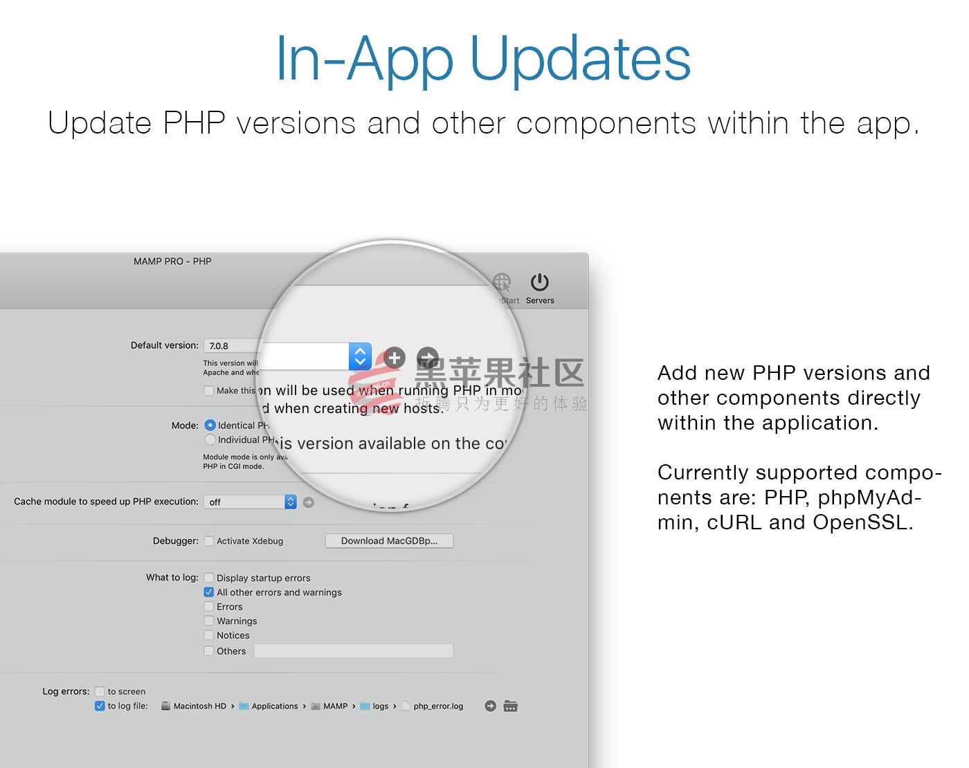MAMP Pro for Mac V4.2 强大的本地服务器软件