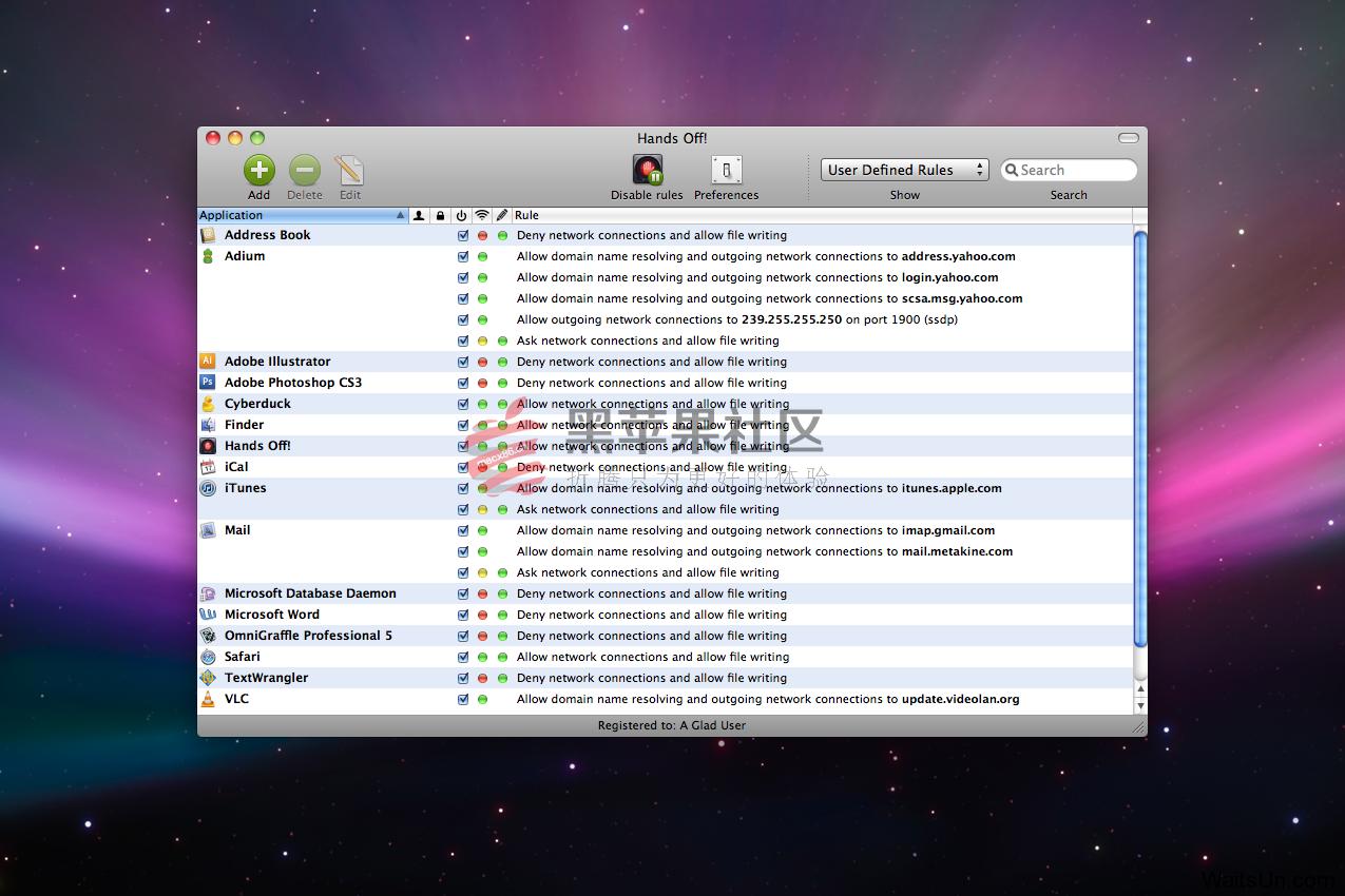 Hands Off! For Mac v3.2.1 Mac优秀的防火墙软件
