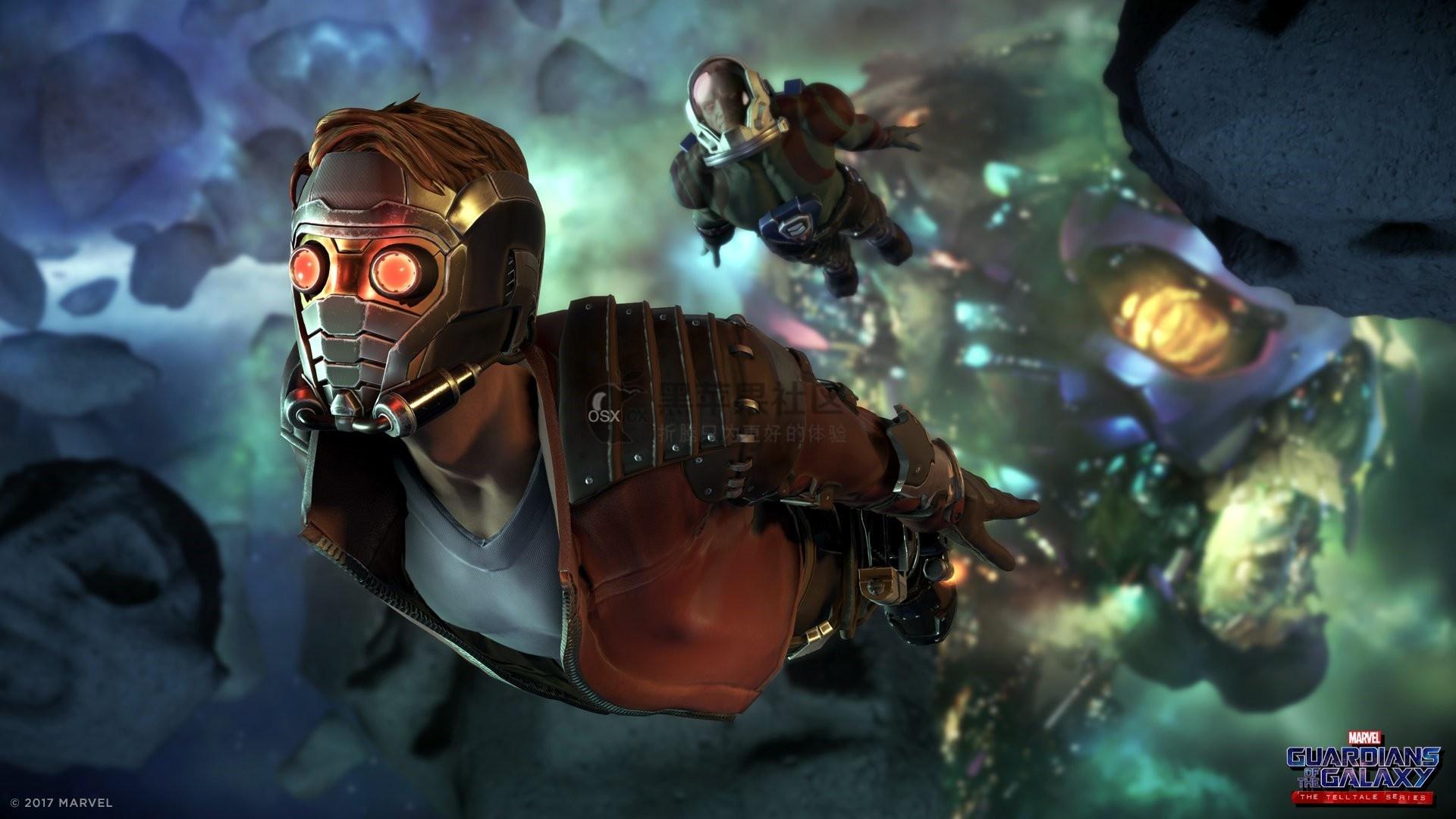 Marvels Guardians of the Galaxy: The Telltale Series 银河护卫队 Mac游戏