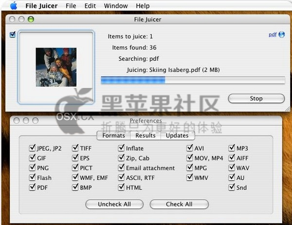 File Juicer For Mac v4.80 专业的文件提取软件