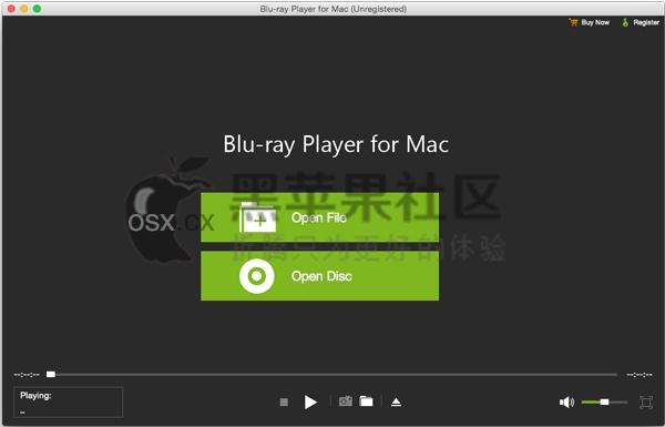 Blu-ray Player For Mac v1.0.6 专业的万能蓝光视频播放器