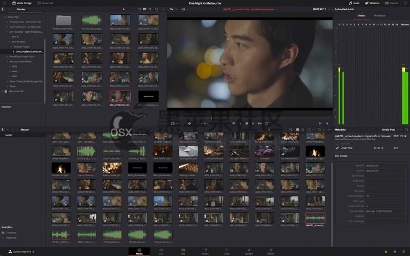 DaVinci Resolve Studio v17.2.1 For Mac 达芬奇世界顶级调色软件